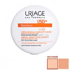 Uriage Барьесан SPF50+ Минеральная тональная крем-пудра (песочный) 10 гр.