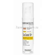 Dermaceutic Cолнцезащитный крем с тонирующим эффектом Sun Ceutic SPF50 Tinted 50 мл.