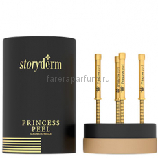 Storyderm Princess Peel Пилинг - крем с золотыми микроиглами 4*2 мл.
