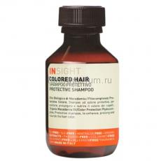 Insight Colored Hair Защитный шампунь для окрашенных волос 100 мл.