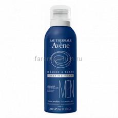 Avene Men Пена для бритья 200 мл.