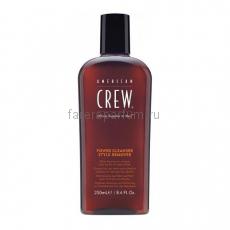 American Crew Power Cleanser Style Remover Шампунь для ежедневного ухода, очищающий волосы от укладочных средств 250 мл.