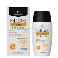 Heliocare 360º Pediatrics Mineral Sunscreen SPF50+ Минеральный фотопротектор для детей СЗФ50+ 50 мл.