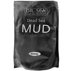 Dr. Sea Минеральная черная грязь Мертвого моря (пакет) 600 гр.