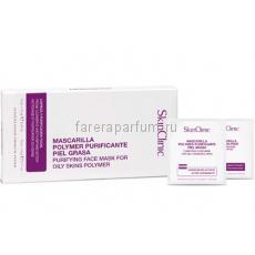 SkinClinic Маска-пленка очищающая для жирной кожи лица (12 гр.+3 гр.)