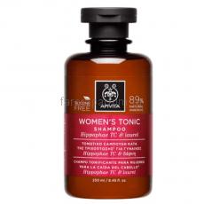 Apivita Тонизирующий шампунь против выпадения волос для женщин 250 мл.
