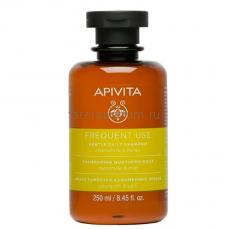 Apivita Мягкий шампунь для частого использования с Ромашкой и Мёдом 250 мл.