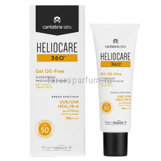 Heliocare 360º Gel Oil-Free Dry Touch SPF50 Sunscreen Солнцезащитный гель с SPF50 50 мл.