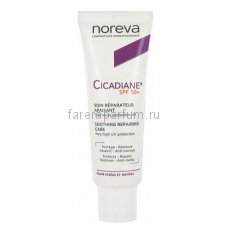 Noreva Цикадиан Восстанавливающий успокаивающий крем SPF50+ 40 мл.