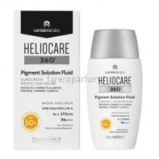"""Heliocare 360º Pigment Solution Fluid Sunscreen Солнцезащитный флюид """"Защита от пигментации"""" СЗФ50+ 50 мл."""
