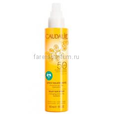 Caudalie Солнцезащитное молочко-спрей для лица и тела SPF50 75 мл.