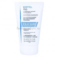 Ducray Кертиоль P.S.O. Восстанавливающий шампунь для устранения шелушения кожи головы 125 мл.