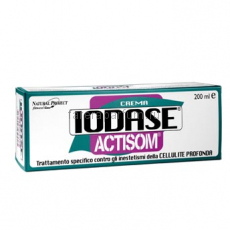 Iodase Actisom crema Разогревающий антицеллюлитный крем глубокого действия (3-4 стадия) 200 мл.