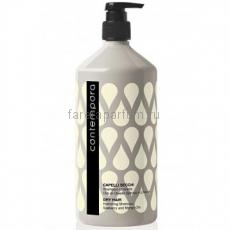 Barex Contempora Шампунь для придания объема тонким волосам с маслом облепихи и огуречным маслом 1000 мл.