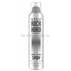 Biosilk Rock Hard Спрей сверхсильной фиксации для укладки волос 284 мл.
