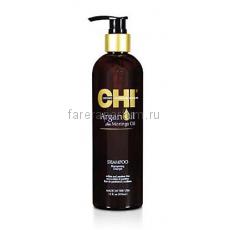 CHI Argan Oil Shampoo Шампунь с экстрактом масла Арганы и дерева Маринга 340 мл.