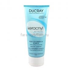 Ducray Керакнил Очищающий гель для лица и тела 200 мл.