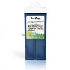 Depilflax100 Воск в картриджах Азуленовый с узким роликом 110 мл.