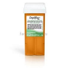 Depilflax100 Воск в картриджах Морковь 110 мл.