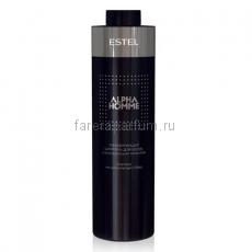 Estel Alpha Homme Тонизирующий шампунь для волос с охлаждающим эффектом 1000 мл.