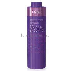 Estel Prima Blonde Серебристый шампунь для холодных оттенков блонд 1000 мл.