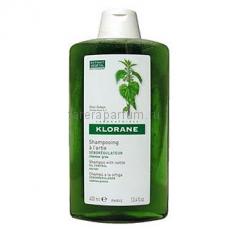 Klorane Шампунь с экстрактом крапивы себорегулирующий для жирных волос 400 мл.