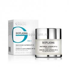 GIGI Bioplasma Moist Supreme SPF-20 Крем увлажняющий для нормальной и сухой кожи с SPF-20 50 мл.