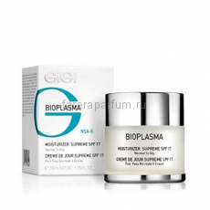 GIGI Bioplasma Moist Supreme SPF-17 Крем увлажняющий для жирной кожи с SPF-17 50 мл.