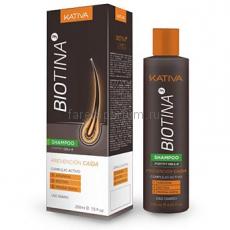 Kativa Biotina Шампунь против выпадения волос с биотином 250 мл.