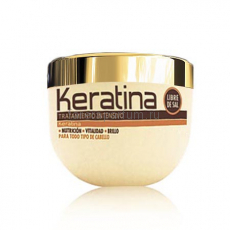 Kativa Keratina Интенсивно восстанавливающая маска с кератином для поврежденных и хрупких волос 500 мл.