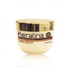 Kativa Keratina Интенсивно восстанавливающая маска с кератином для поврежденных и хрупких волос 250 мл.