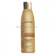 Kativa Argana Увлажняющий кондиционер для волос с маслом Арганы 250 мл.