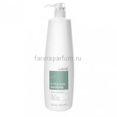 Lakme K.Therapy Purifying Balancing Shampoo Oily Hair Шампунь для жирных волос, восстанавливающий баланс 1000 мл.
