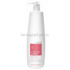 Lakme K.Therapy Peeling Shampoo Dandruff Oily Hair Шампунь против перхоти для жирных волос 1000 мл.