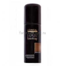 L`oreal Hair Touch Up Консилер для волос коричневый 75 мл.