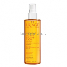Uriage Барьесан SPF50 Сухое масло спрей 200 мл.