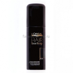 L`oreal Hair Touch Up Консилер для волос черный 75 мл.