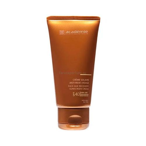 Academie Bronzecran Солнцезащитный регенерирующий крем для лица SPF40 50 мл.