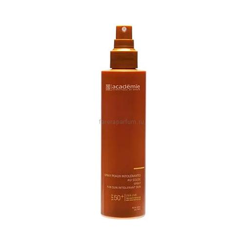 Academie Bronzecran Солнцезащитный спрей для чувствительной кожи SPF50+ 150 мл.