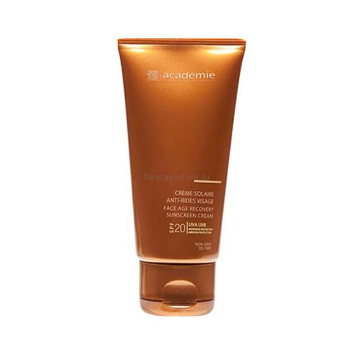 Academie Bronzecran Солнцезащитный регенерирующий крем для лица SPF20 50 мл.