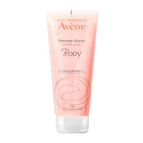 Avene Body Мягкий скраб для тела 200 мл.