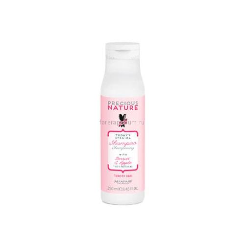 Alfaparf Precious Nature Shampoo For Dry and Thirsty Hair Шампунь для сухих волос 250 мл.