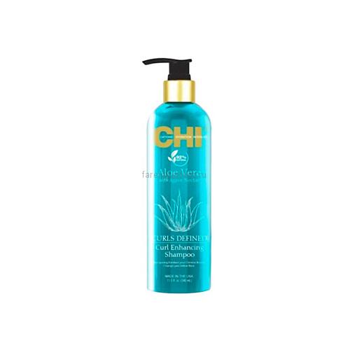 CHI Aloe Vera with Agave Nectar Шампунь для вьющихся волос 340 мл.
