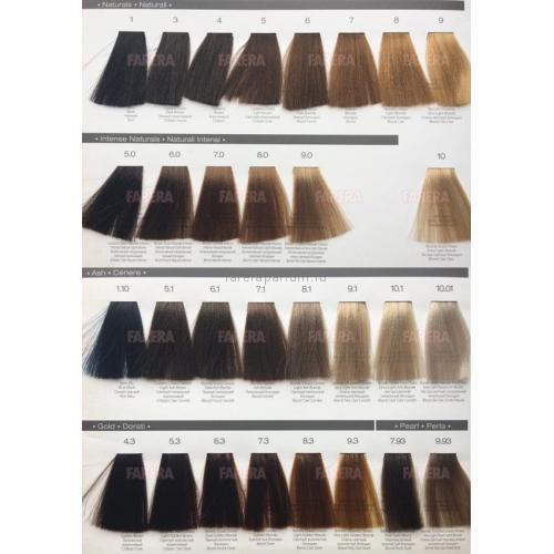Teotema Cream color Стойкая крем-краска для волос 100 мл.