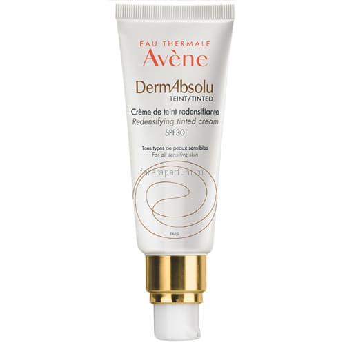 Avene ДермАбсолю Крем для упругости кожи лица с тонирующим эффектом SPF30 40 мл.