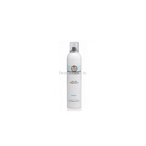 Barex Olioseta Oro del Marocco Лак - Блеск с маслом Арганы и Пантенолом Illuminating Hairspray 300 мл.